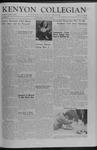 Kenyon Collegian - October 25, 1957