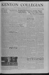 Kenyon Collegian - November 8, 1957