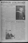 Kenyon Collegian - June 5, 1958
