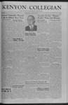 Kenyon Collegian - January 16, 1959