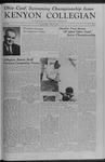 Kenyon Collegian - March 6, 1959