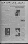 Kenyon Collegian - March 13, 1959
