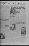 Kenyon Collegian - May 15, 1959