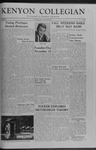 Kenyon Collegian - October 30, 1959