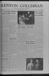 Kenyon Collegian - December 11, 1959