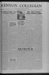 Kenyon Collegian - January 22, 1960