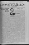 Kenyon Collegian - April 22, 1960