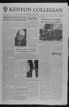 Kenyon Collegian - October 6, 1961