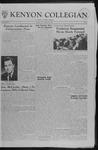 Kenyon Collegian - January 19, 1962