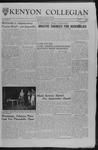 Kenyon Collegian - February 2, 1962
