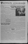 Kenyon Collegian - April 20, 1962