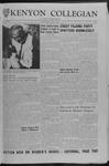 Kenyon Collegian - October 5, 1962