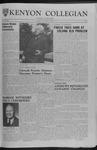 Kenyon Collegian - October 19, 1962
