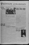 Kenyon Collegian - November 16, 1962
