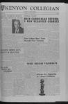 Kenyon Collegian - April 19, 1963
