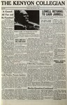 Kenyon Collegian - November 5, 1965