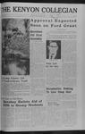 Kenyon Collegian - October 6, 1966