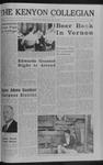 Kenyon Collegian - October 27, 1966