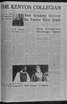 Kenyon Collegian - November 10, 1966