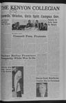 Kenyon Collegian - November 17, 1966