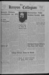 Kenyon Collegian - May 5, 1967