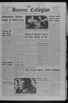 Kenyon Collegian - November 2, 1967