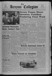 Kenyon Collegian - January 25, 1968