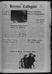 Kenyon Collegian - April 4, 1968