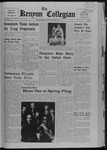 Kenyon Collegian - April 18, 1968