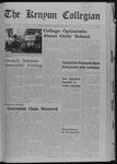 Kenyon Collegian - September 19, 1968