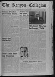 Kenyon Collegian - September 28, 1968
