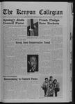 Kenyon Collegian - October 3, 1968