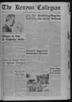 Kenyon Collegian - October 10, 1968