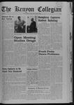 Kenyon Collegian - October 31, 1968