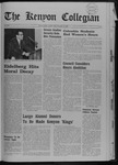 Kenyon Collegian - November 14, 1968