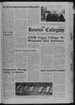 Kenyon Collegian - December 5, 1968