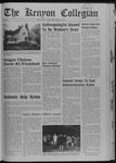 Kenyon Collegian - December 12, 1968