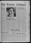 Kenyon Collegian - February 13, 1969