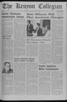 Kenyon Collegian - April 4, 1969