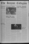 Kenyon Collegian - April 17, 1969