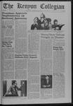 Kenyon Collegian - April 9, 1970