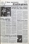 Kenyon Collegian - October 29, 1970