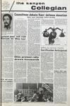 Kenyon Collegian - November 5, 1970