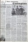 Kenyon Collegian - November 12, 1970
