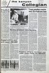 Kenyon Collegian - November 19, 1970