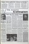 Kenyon Collegian - December 10, 1970