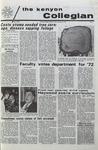 Kenyon Collegian - January 21, 1971
