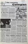 Kenyon Collegian - January 28, 1971