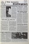 Kenyon Collegian - February 11, 1971