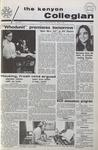 Kenyon Collegian - March 4, 1971
